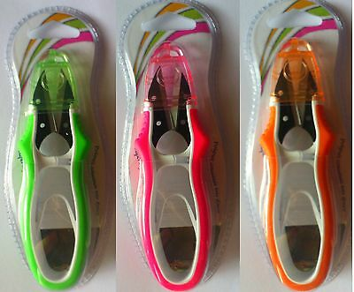 Thread Snips Soft Grip Florescent Soft Ergonomic Scissors Arch Orange Pink Green