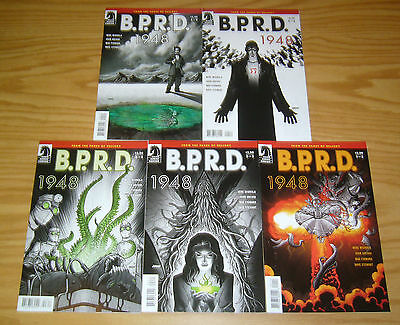 BPRD: 1948 #1-5 VF/NM complete series - mike mignola - hellboy dark horse 2 3 4