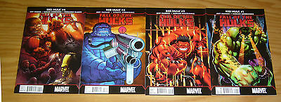 Fall of the Hulks: Red Hulk #1-4 VF/NM complete series - jeff parker 2 3 set lot