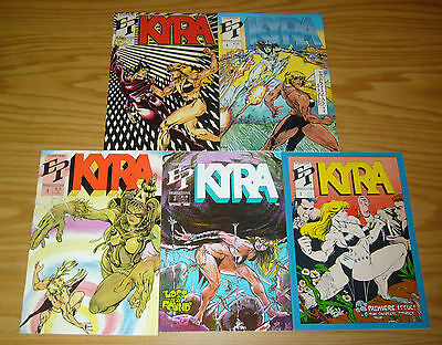 Kyra #1-5 VF/NM complete series FEMALE BODY BUILDERS bad girl comics 2 3 4 set