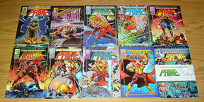 Prime #½ 1-26 VF/NM complete series + annual + ashcan + (2) variants + crossover