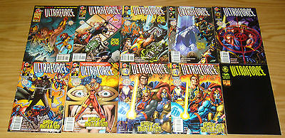 Ultraforce vol. 2 #∞ & 1-15 VF/NM complete series + variant - warren ellis set