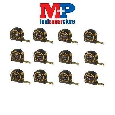Stanley 130696 Pocket Tylon Tape Measure 5M 5 Metre **pack Of 12**