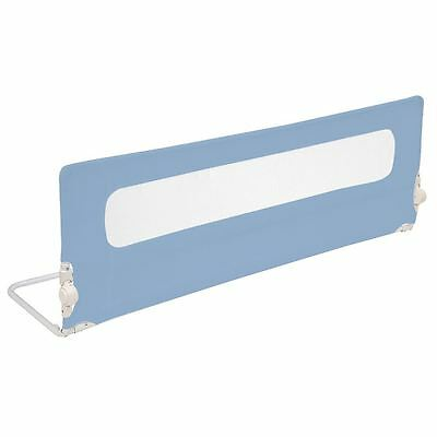 Safetots Extra Wide Mesh Bed Rail - Extra Long Toddler Bedguard - Blue