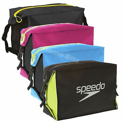 Speedo 5 Litre Pool Side Goggle Bag Swimming Swim Waterproof Gym Wet Pouch New