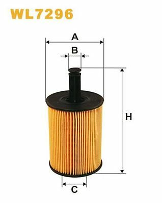 To Clear - New Oe Quality Wix - Oil Filter - Wl7296