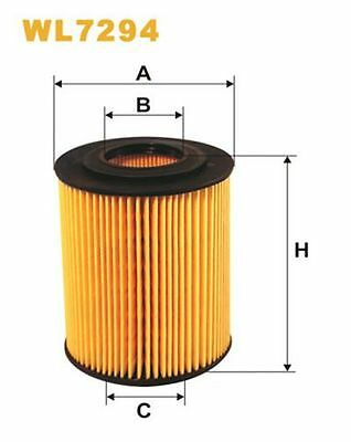 To Clear - New Oe Quality Wix - Oil Filter - Wl7294