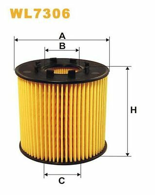 To Clear - New Oe Quality Wix - Oil Filter - Wl7306