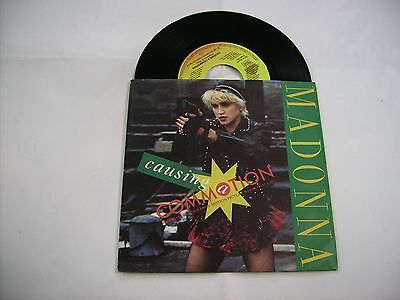 "Madonna - Causing A Commotion - 7"" Vinyl Excellent Condition 1987 Italy"