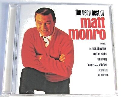 Matt Monro - The Very Best Of - CD NEW & SEALED  born free , my kind of girl