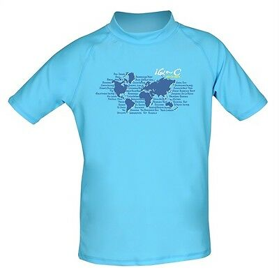 iQ UV 300 Shirt Youngster Ocean turquoise