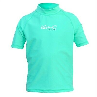 iQ UV 300 Shirt Youngster Ocean green