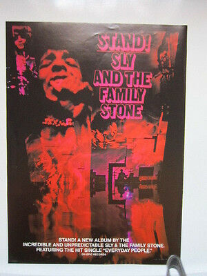 SLY & THE FAMILY STONE Stand Billboard magazine advertisement 11x15