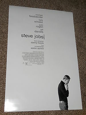 "STEVE JOBS 2015 ""B"" vg 27x40 ORIGINAL D/S MOVIE POSTER"
