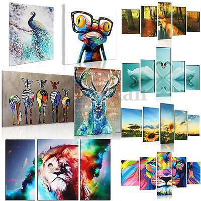 Modern HD Unframed Canvas Print Abstract Wall Art Painting Picture Home Decor