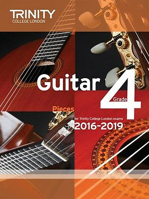 Trinity College Guitar Pieces Grade 4 from 2016-19 - Same Day P+P