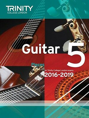 Trinity College Guitar Pieces Grade 5 from 2016-19 - Same Day P+P