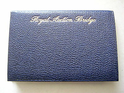Playing Cards Antique Leather Covered Laws Rule Auction Bridge Bergholt 1924
