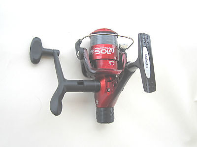 2 x  Lineaffe Sol Red Fishing Reels 6lb line use for Float Spinning Carp Trout