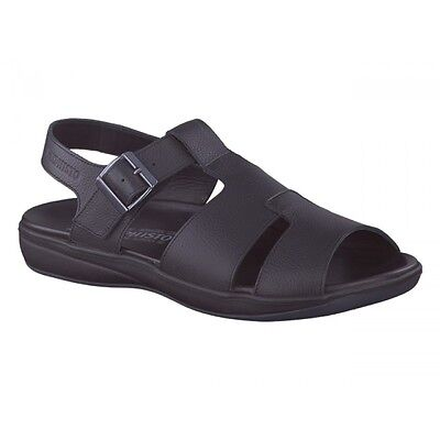 2c549cf41f5 MEPHISTO SABINO DARK Brown Fisherman Comfort Sandal Mens 40-48 NEW ...