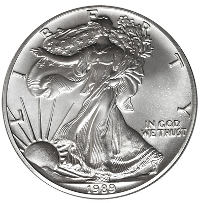 1989 $1 American Silver Eagle 1 oz Brilliant Uncirculated