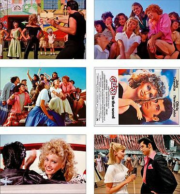 Grease Great New POSTCARD Set