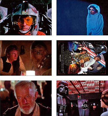 Star Wars 1977 Film Great New POSTCARD Set