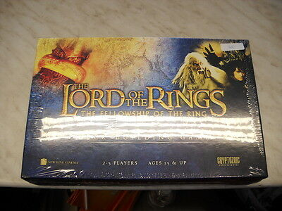 Cryptozoic Lord of the Rings The Fellowship Deck-Building Game Englisch NEU OVP