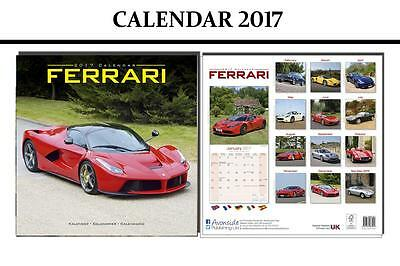 Ferrari Sports Cars 2017 Square Calendar - Brand New And Sealed By Avonside