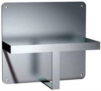 Bedpan Bed Pan Asi Medical 10-0557 Stainless Wall Mount Rack Bracket Holder New