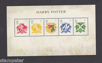 Great Britain 2007 MUH Harry Potter SG MS 2757