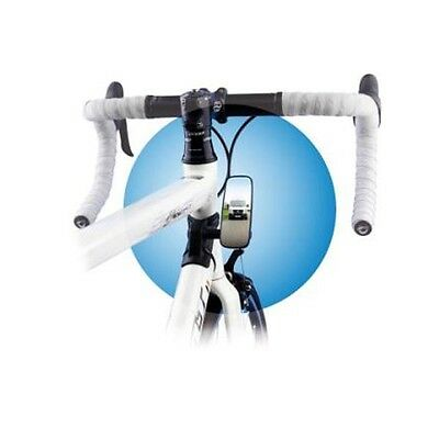 Bike-Eye Frame Mounted Rear View Bike Mirror - Wide View Bicycle mirror