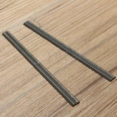 2X Reversible Steel Planer Blades 82mm For Electric Power Tool Carpentry