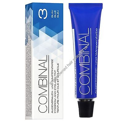 Combinal Eyelash Eye Lash Tint Eyebrow Brow Blue Tinting Eyebrows 15ml