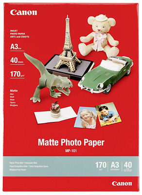 Canon Mp 101 A 3, 40 Sheet Matte,  170 G New