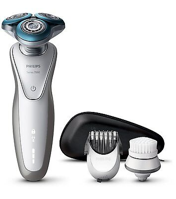 Philips Rechargeable Shaver S7530/50 for Sensitive Skin with Beard Trimmer