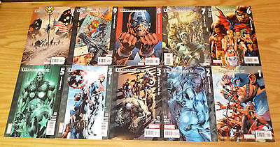 the Ultimates 2 #1-13 VF/NM complete series + annual 1-2 mark millar avengers