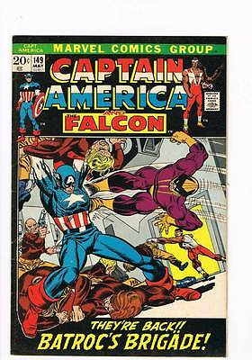 Captain America # 149  Batroc's Brigade grade 7.5 scarce hot book !!