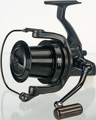 TF Gear DL Black Edition Big Pit Carp Fishing Distance Reel - TFG Ex Demo