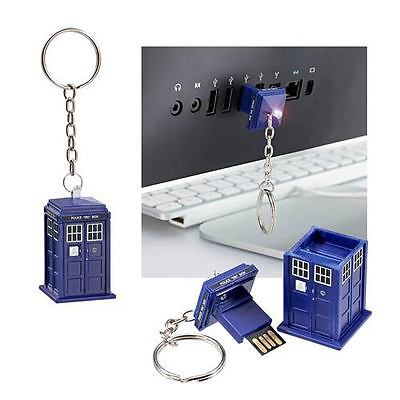 """DOCTOR WHO """"TARDIS 16GB USB MEMORY STICK"""" NEW in Package"""