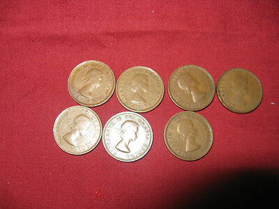 1953 SF Shoulder Fold Penny One Coin From The Lot.