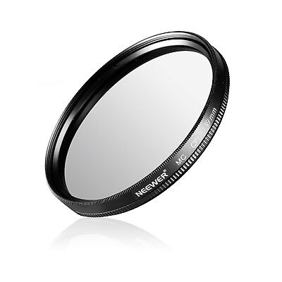 Neewer 49MM CPL Circular Polarizer Filter Multi-Coated with Cleaning Cloth