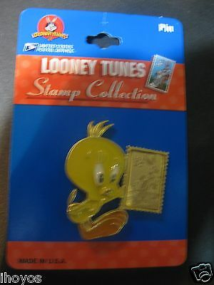 Looney Tunes Tweety Bird Vintage Pin USPS Stamp Collection, Made in USA, NEW