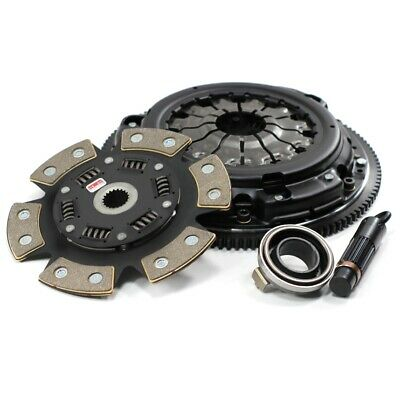 Competition Clutch Stage 4 Clutch Kit 6 Paddle Ceramic 300ZX 3.0 Z32 VG30DE