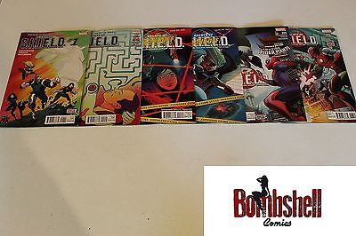 Agents of Shield 1 2 3 4 5 6 Complete Comic Lot Run Set 1st Print Collection