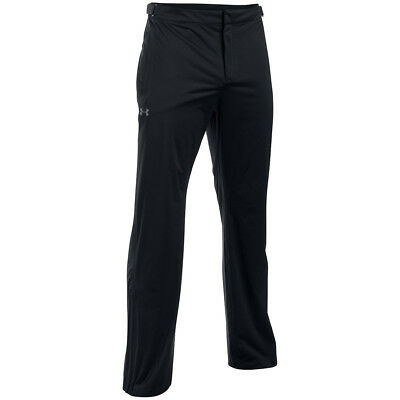 Under Armour Mens UA Golf Storm 3 Rain Waterproof Pant Trousers 35% OFF RRP