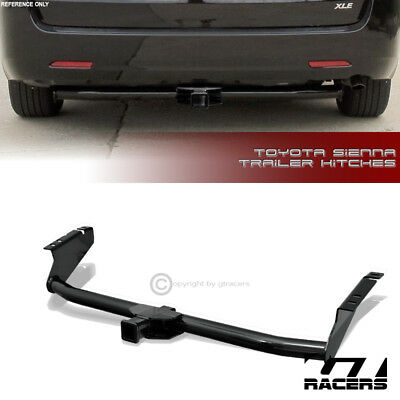 """Class 3 Trailer Hitch Receiver Rear Bumper Towing 2"""" For 2004-2016 Toyota Sienna"""