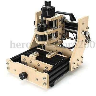 DIY CNC Micro Triaxial Engraving Machine Assembling For Wood Sculpture Artwork