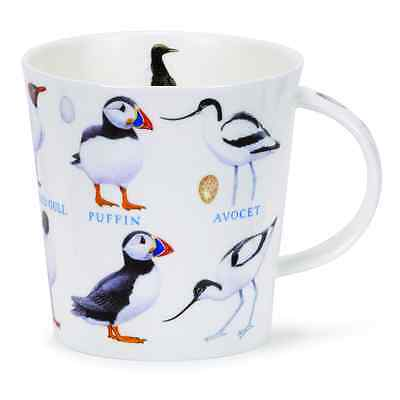 Dunoon Mug Fine Bone China Cairngorm - Birds and Eggs - SEABIRDS - BRAND NEW