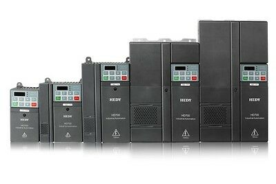 INVERTER VETTORIALE HEDY TRIFASE 400 V kw 11  AC DRIVE 15 HP MOTORE ELETTRICO